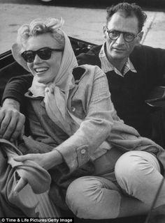 dcbea264a8 Paul Schutzer (LIFE magazine) - Marilyn Monroe - July 1956 - with Arthur  Miller and Milton Greene