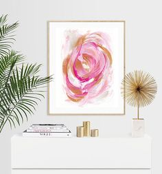 Aphrodite Abstract Expressionist Luxury Acrylic Painting Print - or Aphrodite, A5, Painting Prints, I Shop, Tapestry, Abstract, Luxury, Unique Jewelry, Handmade Gifts