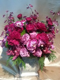 Donna Karan just ordered this arrangement for Barbra Streisand. Donna Karan is an American fashion designer and the creator of the Donna Karan New York and DKNY clothing labels.