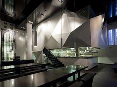 Zozobra asian noodle bar by BK Architects, Kfar Sabba - Isreal hotels and restaurants