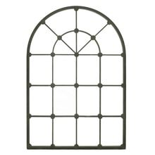 Arched Window Mirror, Metal Mirror, Mirror Mirror, Entry Mirror, Window Panes, Fireplace Mirror, Room Window, My Living Room, Living Room Decor