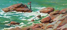 ArtStation - Ocean waves, Slawek Fedorczuk
