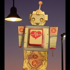 """This is one of the bots available from Taco Bell's """"Robot Lab."""""""