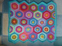 Hexagon by Kerry Warren  Pattern from attic24