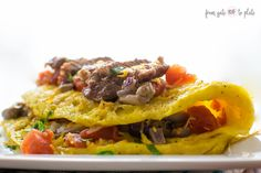 Steak Omelette #Sund