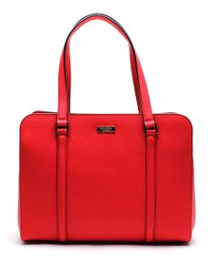 Take a look at the Kate Spade Chili Red Newbury Lane Miles Tote on  zulily 9ef1588690