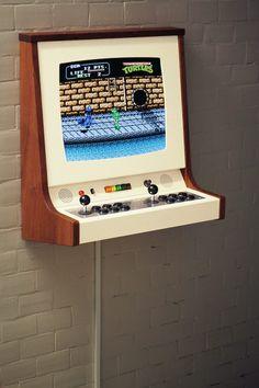 Diy Arcade Cabinet, Set Game, Magazine Design, Arcade Games, Love, Frame, Space Age, Raspberry, Video Games