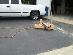 Prowler with pull/drag rope