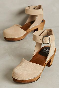 Funkis Ester Clogs - anthropologie.com