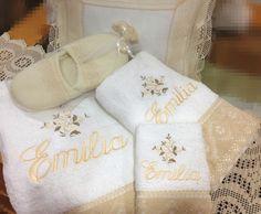 Toallas personalizadas para la abuelita.