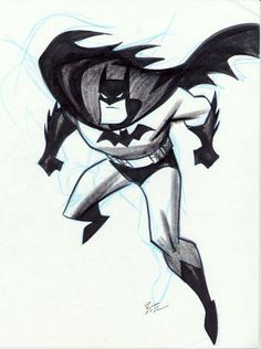 © Bruce Timm    Made the Batman I grew up with!!!
