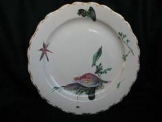 Assiette en faïence de MARSEILLE - XVIIIème siècle - Céramiques, Porcelaines Style Louis XV