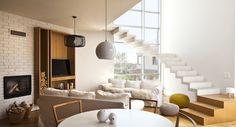 160-metrowy apartament Angeliki i Macieja - tu żyje się, jak w domu