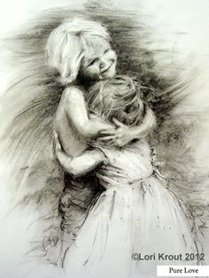 One of my drawings- charcoal and Conté