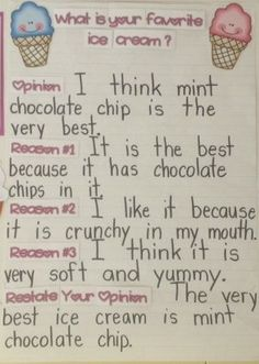 Looks like an anchor chart that would fit nicely with Units of Study Grade 4…