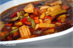 Kung Pao Chicken, Ratatouille, Wok, Sweet Potato, Food And Drink, Chinese, Vegetables, Ethnic Recipes, Foods
