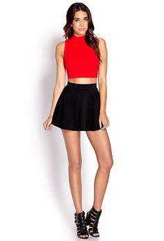 Fresh Ribbed Crop Top | FOREVER21 - 2000071135