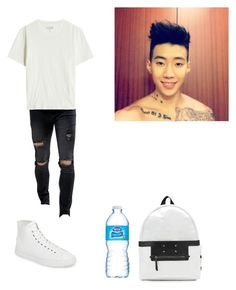 """""""Disney World-Danny"""" by gonzales-family ❤ liked on Polyvore featuring Liquor n Poker, Maison Margiela, House of Future, men's fashion and menswear"""