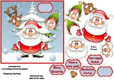 Whos throwing snowballs by Julie Green A great card front thats suitable for a wide ramge of agesThis will fit a 7x7 card