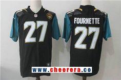 4052f334c Men s Jacksonville Jaguars  27 Leonard Fournette Black 2017 Vapor  Untouchable Stitched NFL Nike Limited Jersey
