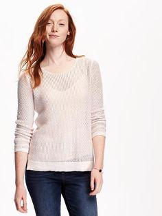 Mesh Pullover for Women