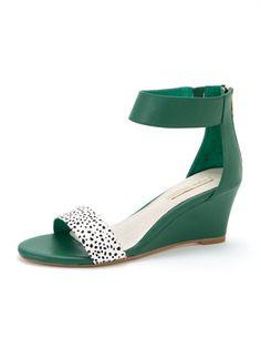 Buffalo LONDON - Harako leather ankle strap sandals