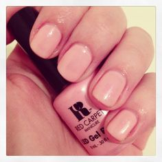 """Red Carpet gel - """"I Simply Love Your Nails"""" -- got a mini in this for $5 at Target! Very pretty color!"""