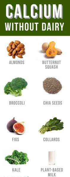 calcium rich foods - sources of calcium