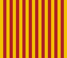 Harry Potter Inspired Gryffindor Stripes fabric by appliquegeek on Spoonflower - custom fabric