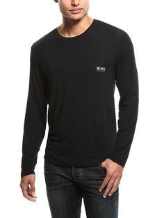 Long-Sleeve Modal Lounge Shirt