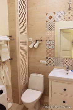 совмещённый санузел с ванной дизайн 3