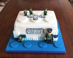 Lego Police Birthday Cake Lego Police Themed Happy Birthday Cake Sweet Blessings Custom Lego P Police Birthday Cakes, Lego City Birthday, Police Cakes, Themed Birthday Cakes, Happy Birthday Cakes, Themed Cakes, Lego City Cakes, Cake Lego, Lego Torte