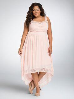 Plus Size Asym Double Layered Women s Maxi Dress