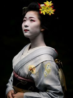 maiko 舞妓 Miyagawachô 宮川町 Toshisumi とし純 KYOTO JAPAN