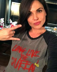 """The Queen knows #EvilRegals are the best fans ever so let's get #EvilTogether for a great cause. Grab an exclusive limited edition #LLTQ shirt using the link in the bio and you'll also be helping FINCA Canada end poverty around the world. Love you all!   @CreationStands"" - LP via Instagram."