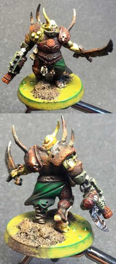 Fourth Nurgle Spawn Terminator :03 --by Matt Sweitzer