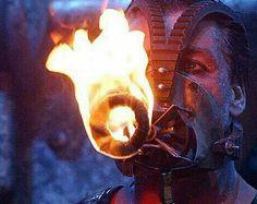 Feuer-maske