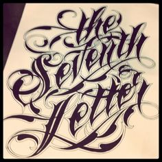 #calligraphy #type #lettering