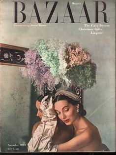 Harpers Bazaar November 1949 - EphemeraForever.com