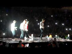 One direction irish dancing - take me home tour liverpool 17-3-13