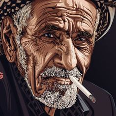 Portraits Illustrés, L'art Du Portrait, Vector Portrait, Digital Portrait, Illustration Art Dessin, Portrait Illustration, Pop Art, Coreldraw, Art Drawings Beautiful