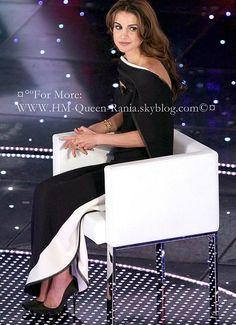 Queen Rania at Sanremo Festival in Italy