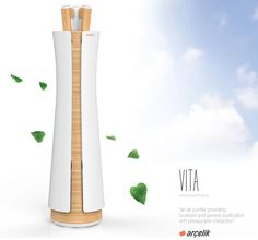 Vita Air Purifier Features Vita Sticks for Localized Purification