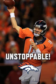Let this sink in for a minute: Peyton Manning, through 4 games, has 16 TOUCHDOWN passes, and ZERO Interceptions.
