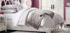 Girls Preppy Bedding   PBteen
