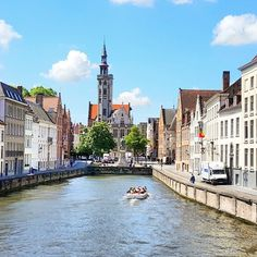 The capital of West Flanders in northwest #Belgium, is distinguished by its canals, cobbled streets and medieval buildings. #Bruges