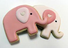 Elephant Cookie Favors