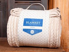 Cream Cable Knit Phur King Blanket (9 ft. x 9 ft.)