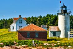 Maine Lighthouses and Beyond: Great Duck Island Lighthouse