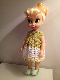 Disney animator collection - crochet dress